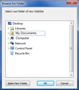 BrowseForFolder